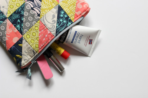 HST Zipper Pouch + Key FOB Tutorial by Jeni Baker