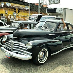 automobile, automotive exterior, vehicle, chevrolet fleetline, compact car, sedan, classic car, vintage car, land vehicle,