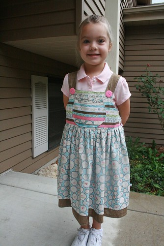 Back to school dress - front