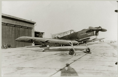 Unidentified single enging aircraft