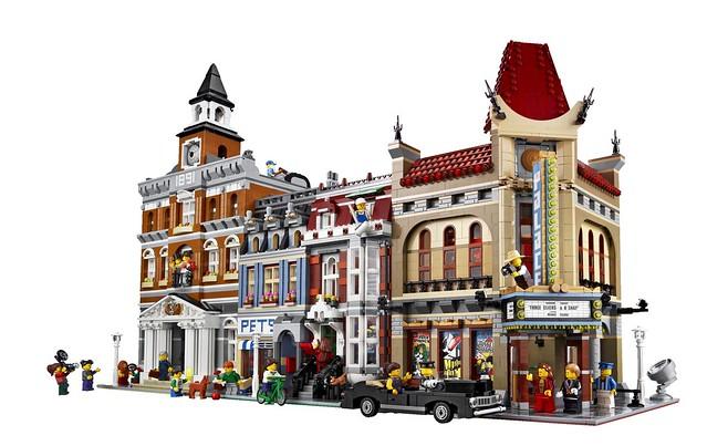 LEGO Creator Expert 10232 - Palace Cinema -Detail 14