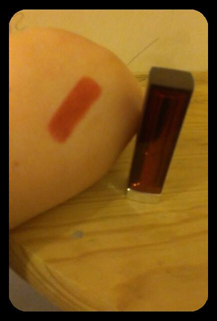 mayeblline lippy swatch