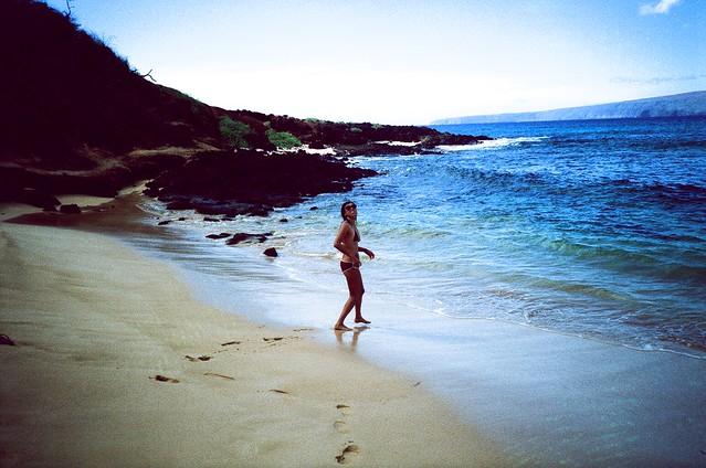 Exhibitionist On Nude Beach
