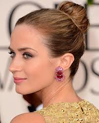 Emily Blunt Statement Earrings Celebrity Style Women's Fashion