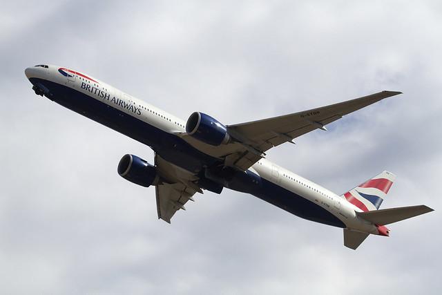 British Airlines B777