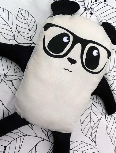 Homemade Toy Panda Plush