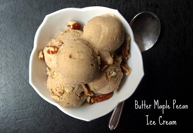 Butter Maple Pecan Ice Cream