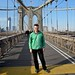 Andy Worthington on the Brooklyn Bridge