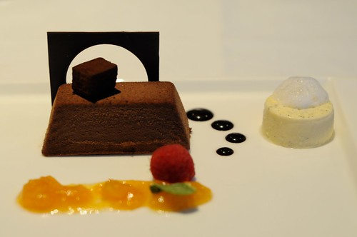 Dessert: 'After Eight' Mint Variation with Chocolate