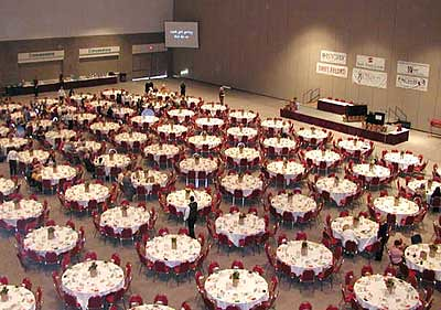 Banquet Style Seating In The Exhibit Hall Flickr Photo