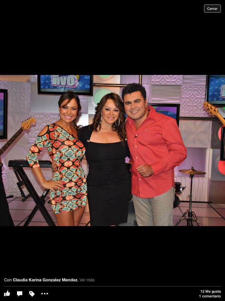 Claudia Gonzalez La Coqueta Tv Jenny Rivera Envivo Flickr
