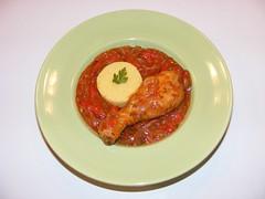 Tocanita de ceapa cu carne de pui