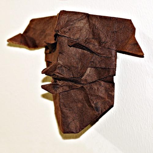 Origami Kappa Mask (Toyoaki Kawai)
