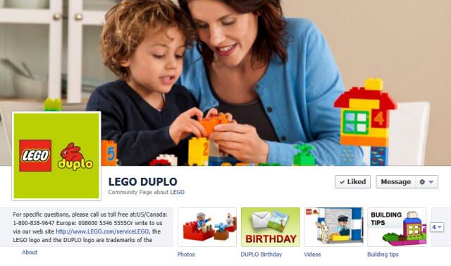 LEGO DUPLO FB Page