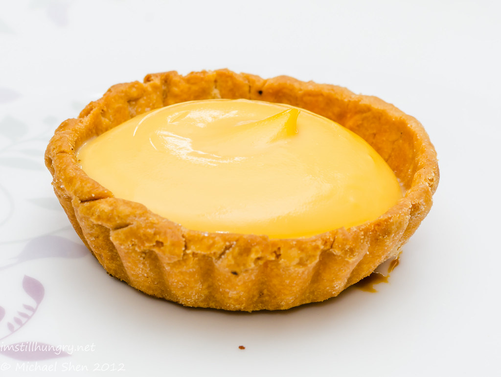 Bourke St Bakery - lemon curd tart