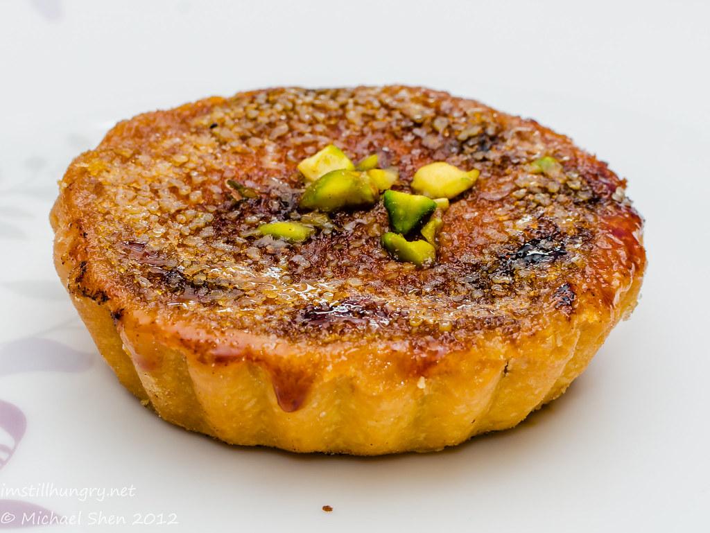 Bourke St Bakery - ginger brulée tart