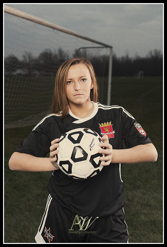 Rochester NY Senior Portrait Photography Soccer