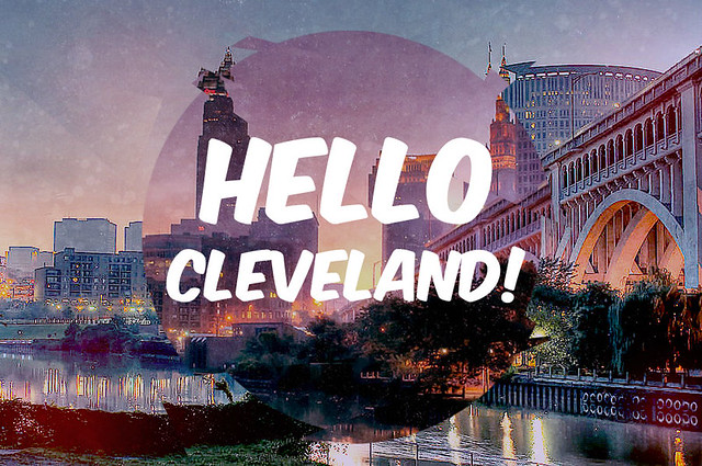 Hello Cleveland Postcard 1