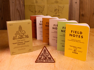 Field Notes Brand National Crop Edition notebook set