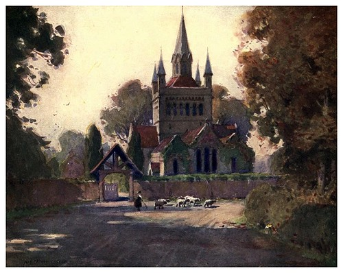 017-Iglesia de Whippingham-Isle of Wight (1908)-Alfred Heaton Cooper