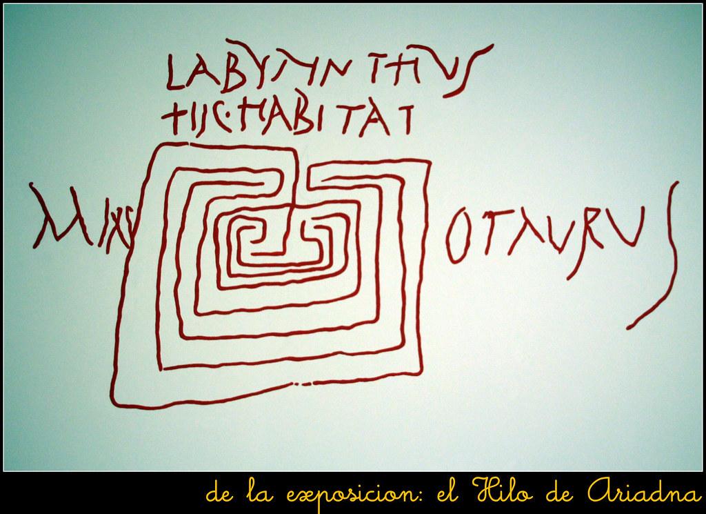 """de la exposición: """"El Hilo de Ariadna"""""""
