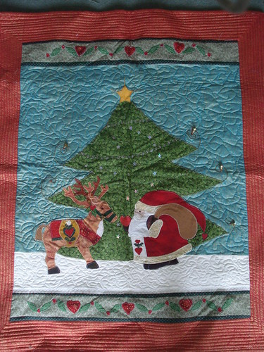 Father Christmas quilt