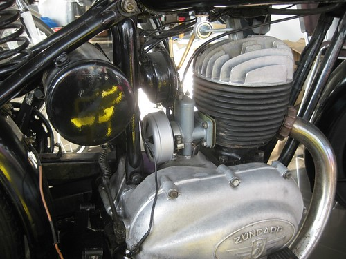 Zundapp Motorcycle - Motor