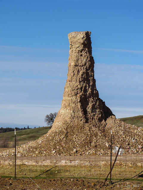 man made formation rancho murieta california december