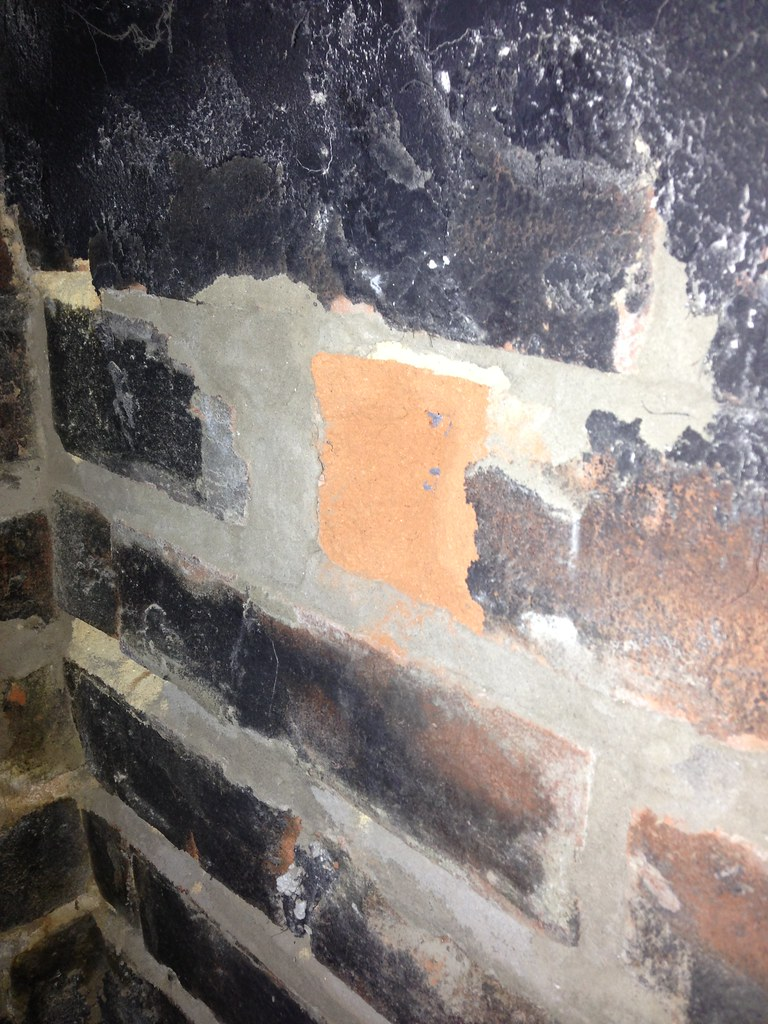 a broken chimney damper caused such a clatter old town home