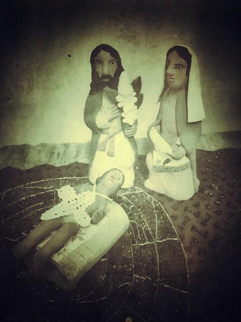 Nativity with Vignette © 2012 Bo Mackison