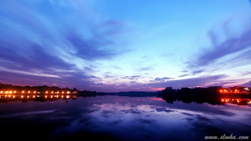 Sunrise at Lower Seletar