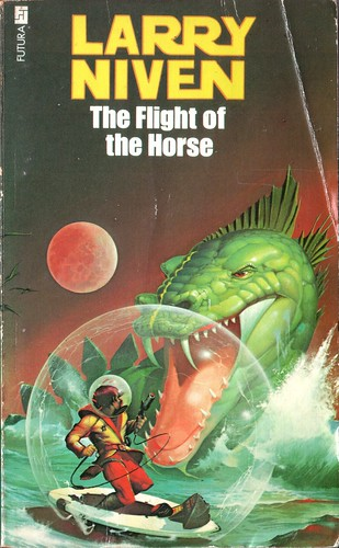The Flight of the Horse by Larry Niven. Futura 1979. Cover artist Peter Andrew Jones