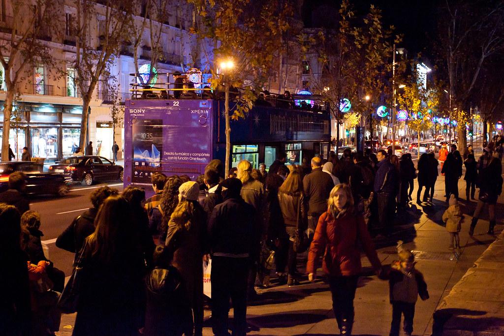 Navibus, Natal em Madri