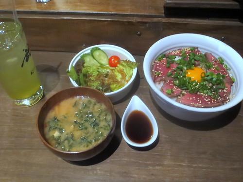 ローストビーフ丼@絆(練馬)