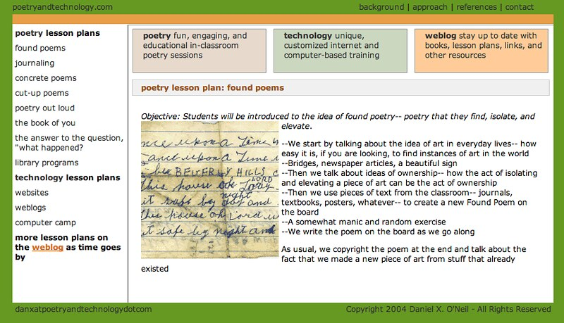 Poetry Lesson Plan: Found Poetry