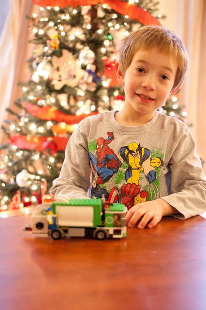 Garbage Truck from Santa!