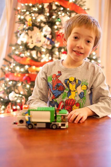 Garbage Truck from Santa!