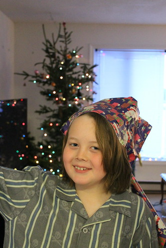 Christmas Day - the wrap king! (152)