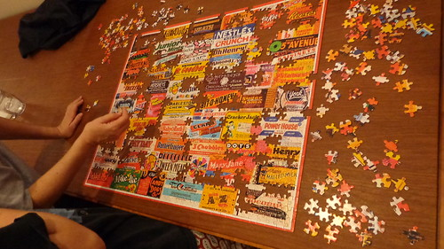 The puzzle 4 1/2 hours later