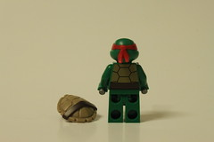 LEGO Teenage Mutant Ninja Turtles Baxter Robot Rampage (79105) - Raphael