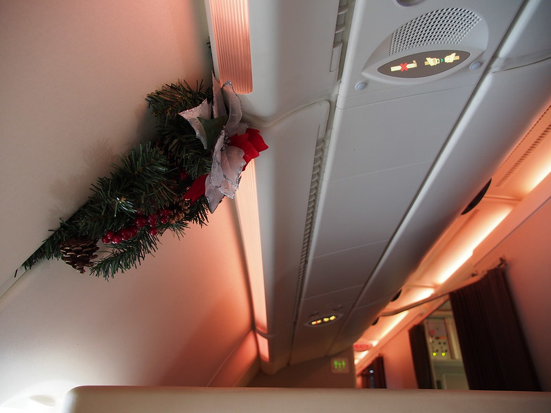 Christmas in SQ A380
