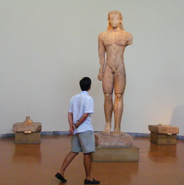 Kouros de Sounion 600 a.C..