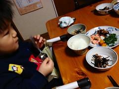 朝御飯 2012/12/31