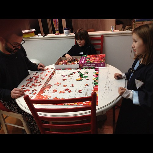 Starting #nye with a candy puzzle because we know how to party HARD