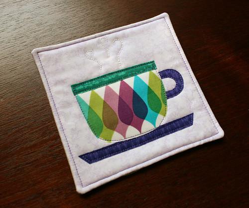 mug rug_cup