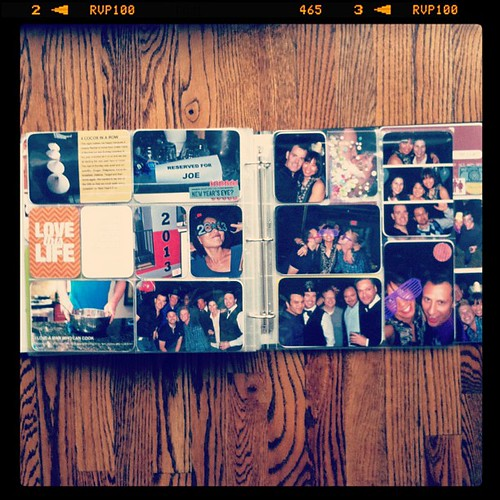 #projectlife the end full spread insert right side