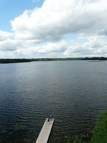 lake europe lithuania zarasai