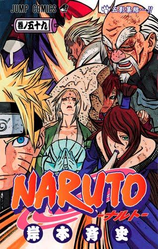 Naruto tomo 59