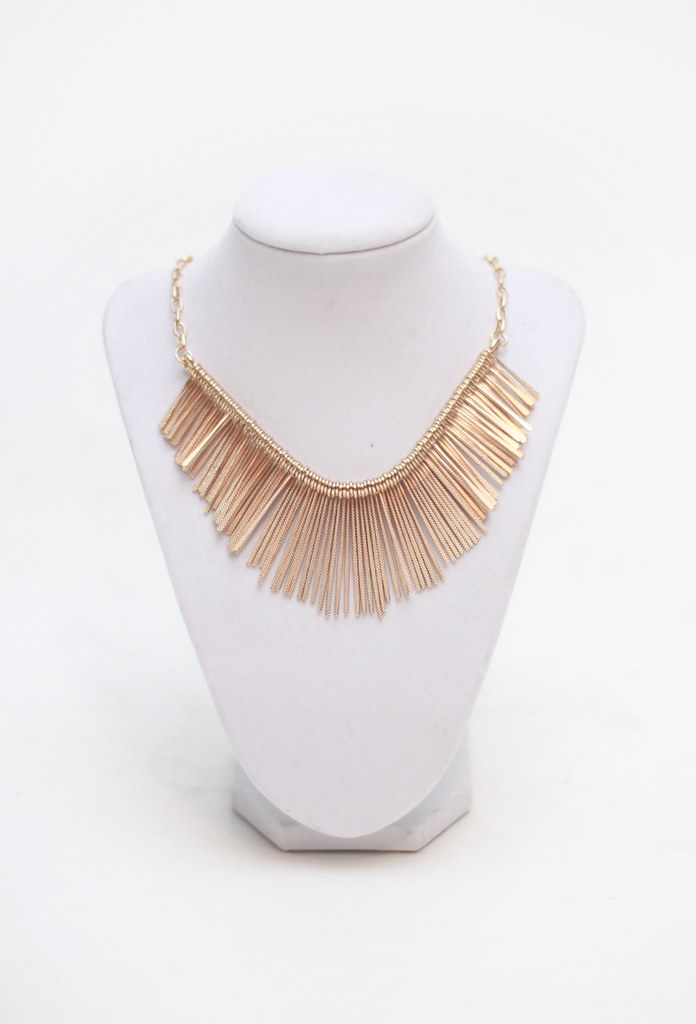 empress gold statement necklace by Tarte Vintage at shoptarte.com