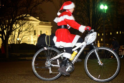 Christmas Is Coming ... On a Bike